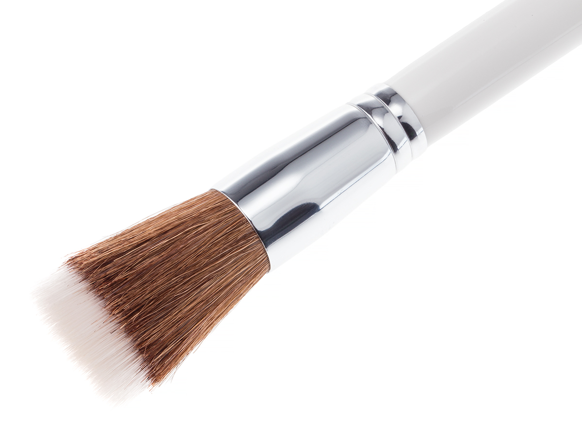 Large Two Tone Brush White